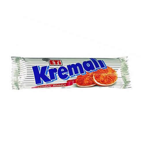Eti Kremalı Bisküvi 77 Gr.