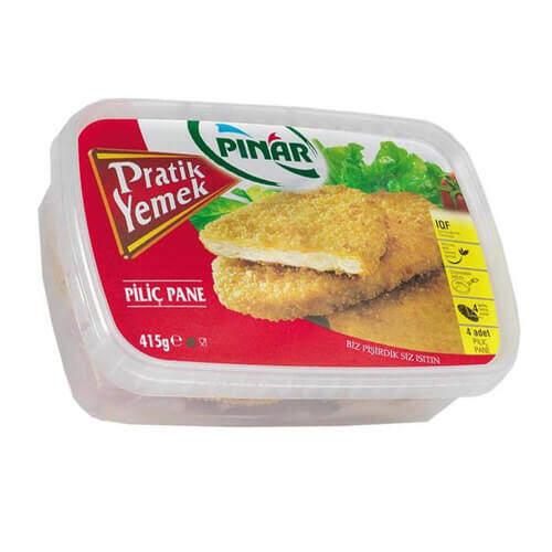 Pınar Pratik Yemek Piliç Pane 4 Adet 415 Gr.