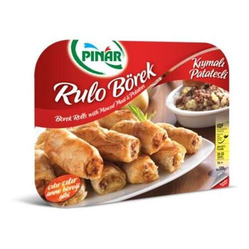 Pınar Rulo Kıymalı Patatesli Börek 500 Gr.