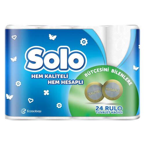 Solo Hesaplı Tuvalet Kağıdı 24'lü
