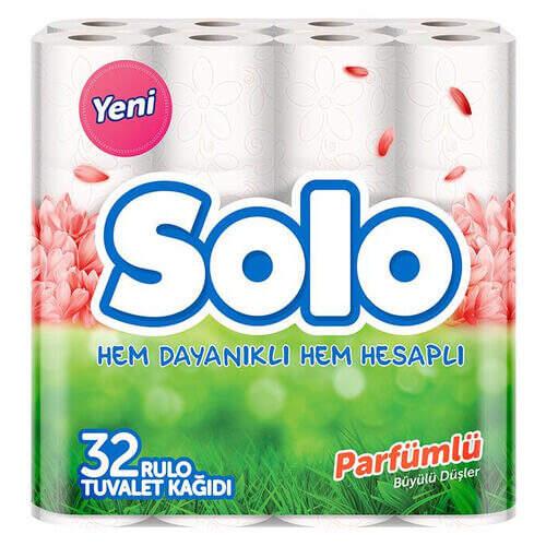 Solo 32'li Tuvalet Kağıdı Parfümlü Büyük Düşler