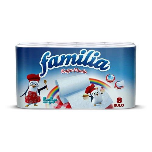 Familia Kağıt Havlu 8'li