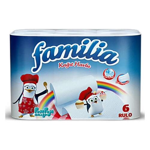 Familia 6'lı Kağıt Havlu