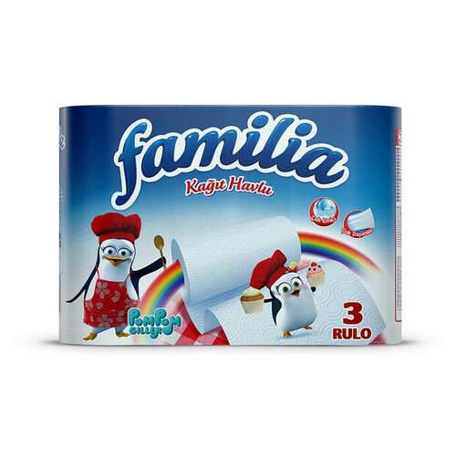 Familia 3'lü Kağıt Havlu