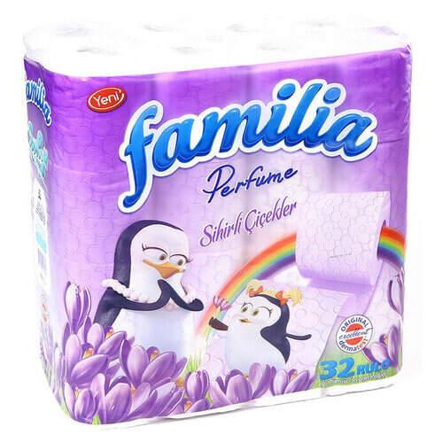 Familia 32'li Sihirli Çiçekler Tuvalet Kağıdı