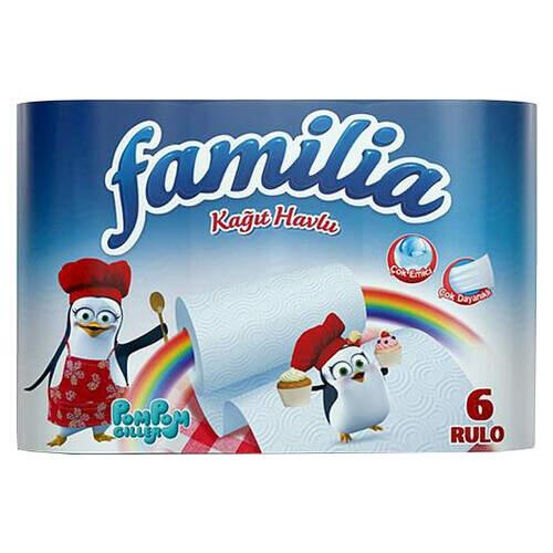 Familia Plus Havlu 6lı
