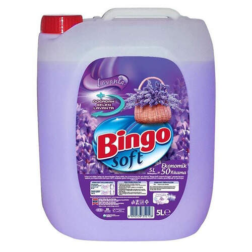 Bingo Soft Lavanta Rüzgarı Yumuşatıcı 5000 Ml.