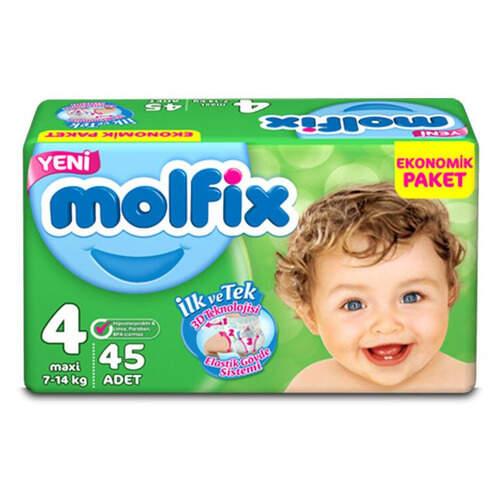 Molfix Ekonomik Paket Maxi (4) 7-14 Kg. 40'lı