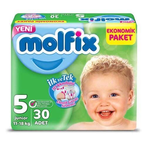 Molfix Eko Paket Junior 5 11-18 Kg 30'lu