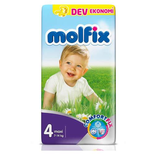 Molfix Dev Ekonomik İkiz Maxi Uyum 7-14 Kg 60'lı