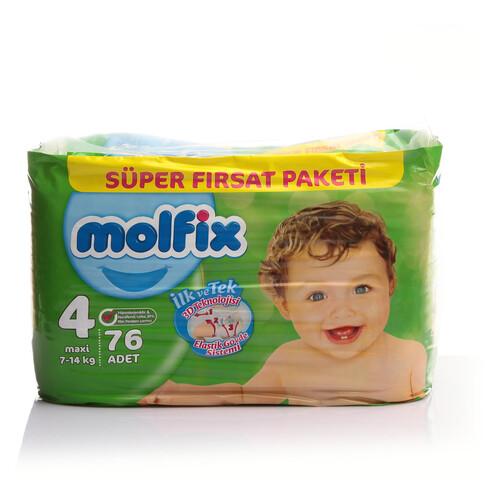 Molfix Süper Fırsat Paketi Maxi 76'lı