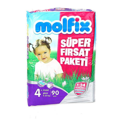Molfix Süper Fırsat Paketi Maxi Plus 72'li