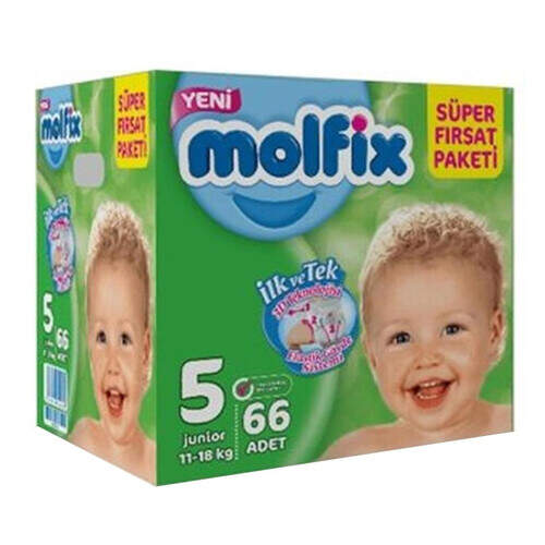 Molfix Süper Fırsat Paketi Junior 60'lı
