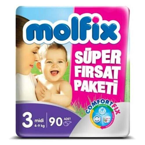 Molfix Süper Fırsat Paketi Midi 94'lü