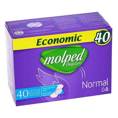Molped Daily Care Normal Ekonomik 40'lı Ped