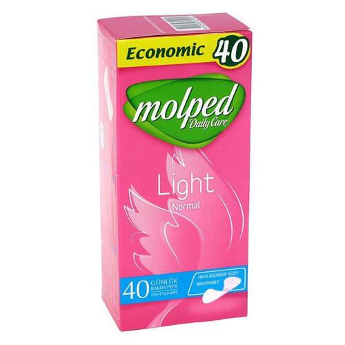 Molped Günlük İnce Parfümsüz 40'lı Ped
