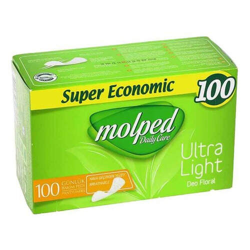 Molped 100'lü Extra Ekonomik İnce Ped