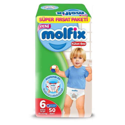 Molfix Süper Fırsat Paketi Extra Large 50'li