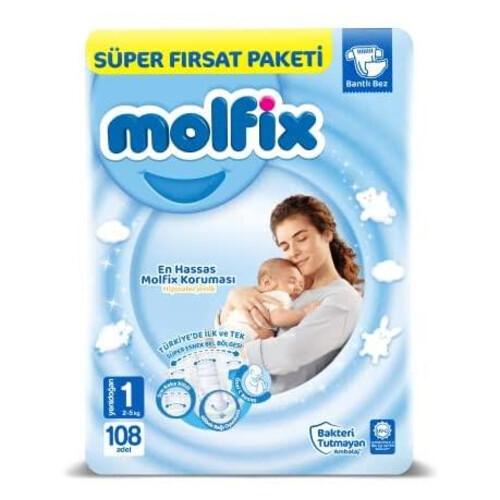 Molfix Süper Fırsat Paketi Yeni Doğan 120'li