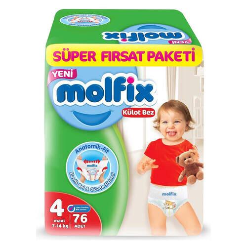 Molfix Pants Süper Fırsat Paketi Maxi 76'lı