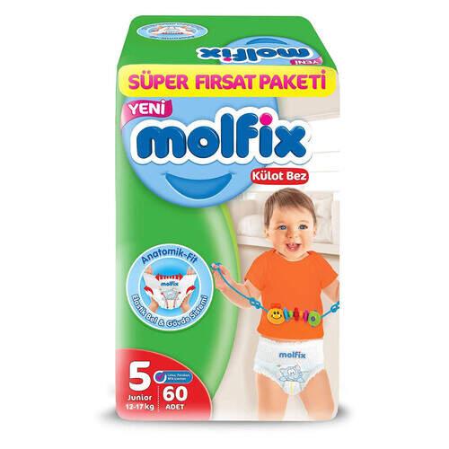 Molfix Pants Süper Fırsat Paketi Junior 60'lı