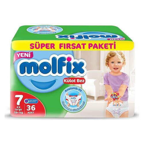 Molfix Pants Süper Fırsat Xxl 36'lı