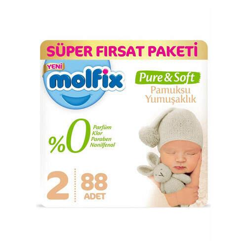 Molfix Premium Süper Fırsat Paketi Mini 88'li