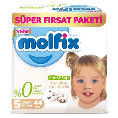 Molfix Premium Süper Fırsat Paketi Junior 44'lü