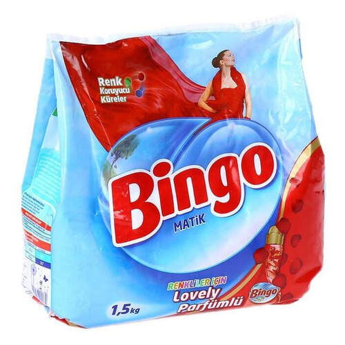 Bingo Matik Konsantre Renkli 1500 Gr.