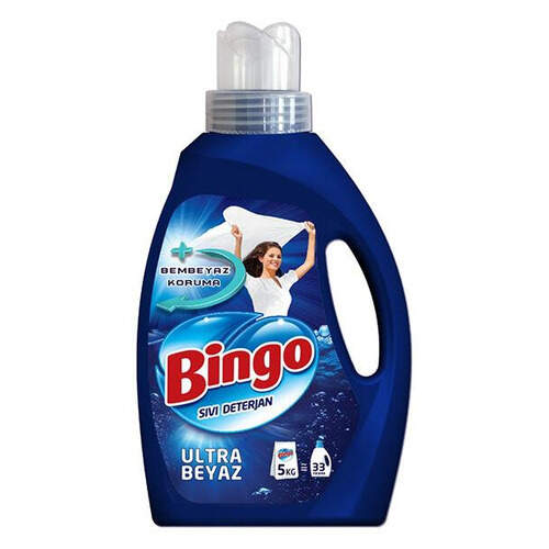 Bingo Matik Sıvı Deterjan Ultra Beyaz 2145 Ml.