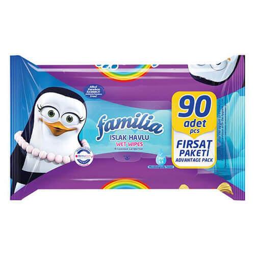 Familia 90'lı Islak Mendil