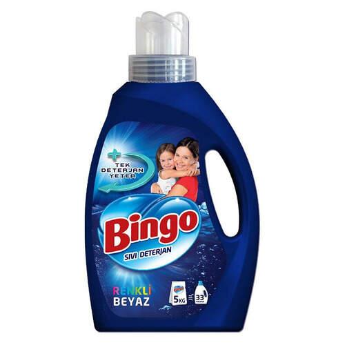Bingo Matik Sıvı Deterjan Renkli Beyaz 2145 Ml.