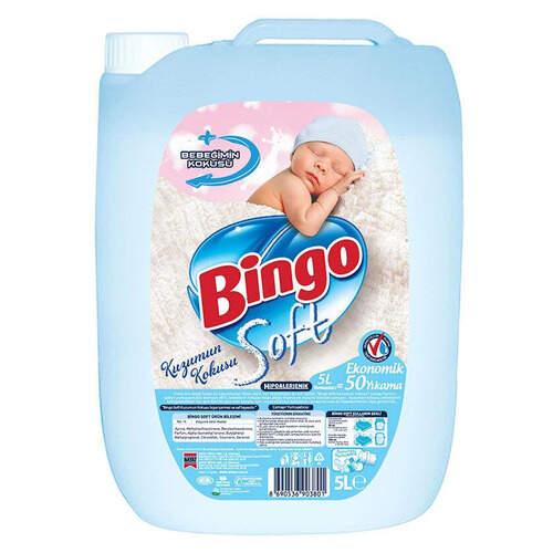 Bingo Soft Kuzumun Kokusu Yumuşatıcı 5000 Ml.