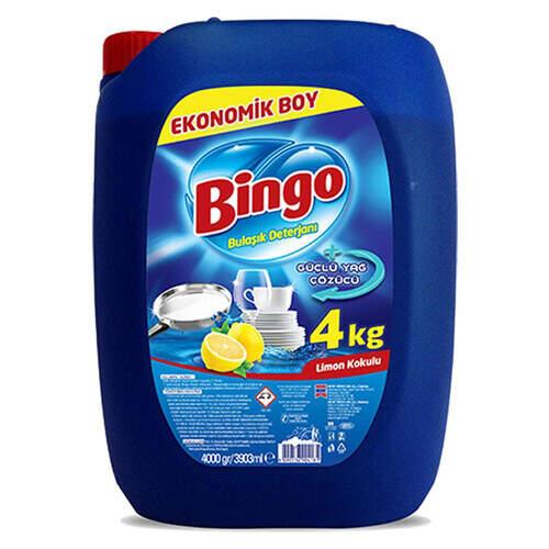 Bingo Bulaşık Sıvısı 4000 Gr.