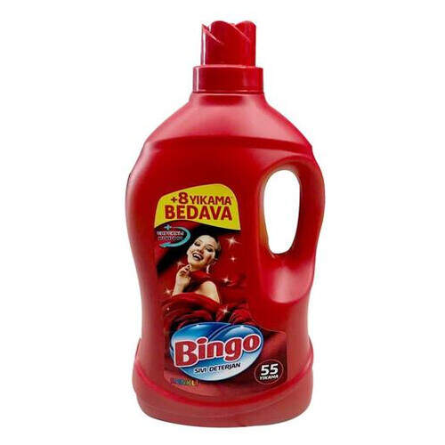 Bingo Lovely Renkli Sıvı Deterjan 3300 Ml.