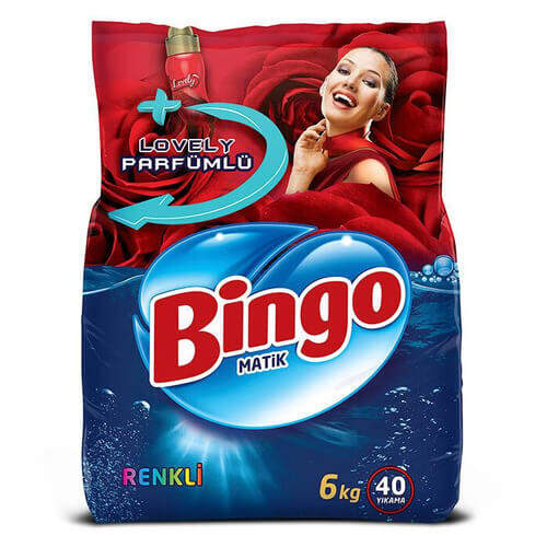 Bingo Matik Renkli 6000 Gr.