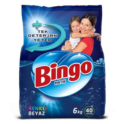 Bingo Matik Renkli Ve Beyaz 6000 Gr.