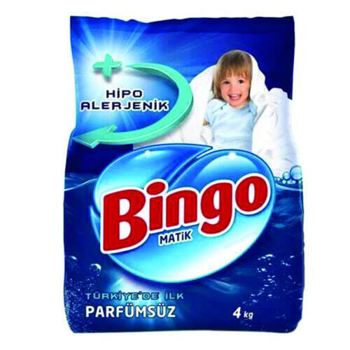 Bingo Matik Parfümsüz 4000 Gr.
