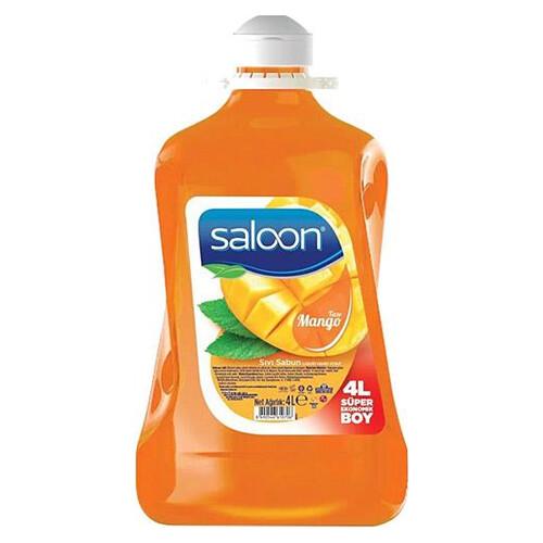 Saloon Sıvı Sabun 4lt Mango