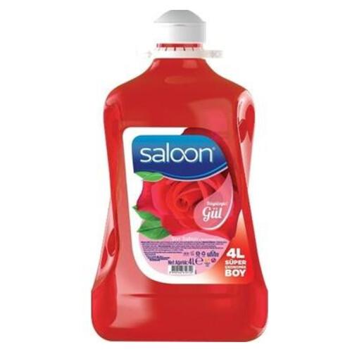 Saloon Sıvı Sabun 4 Lt Gül