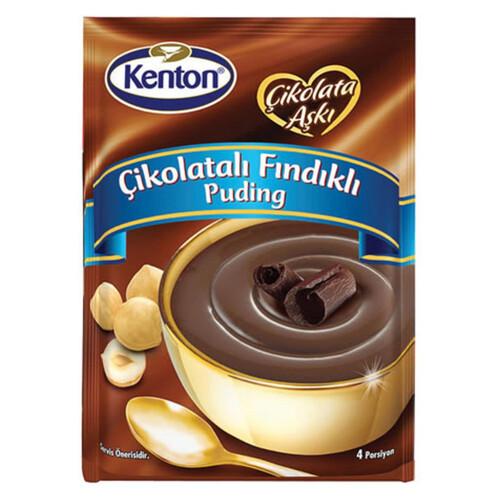 Kenton Çikolatalı Fındıklı Puding 100 Gr