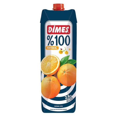 Dimes Premium Meyve Suyu %100 Portakal 1 Lt.