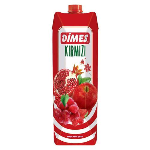 Dimes Meyve Suyu Kırmızı Meyve 1 Lt.