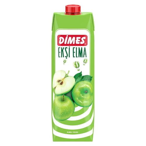 Dimes Buzz Ekşi Elma Meyvesuyu 1000 Ml.