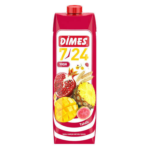 Dimes Meyve Suyu 7/24 Tahıllı 1 Lt.