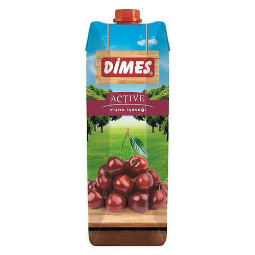Dimes Meyve Suyu Active Vişne 1 Lt.