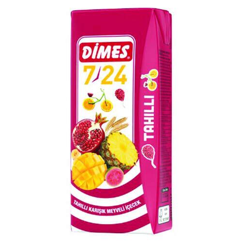 Dimes Meyve Suyu 7/24 Tahıllı 200 Ml.