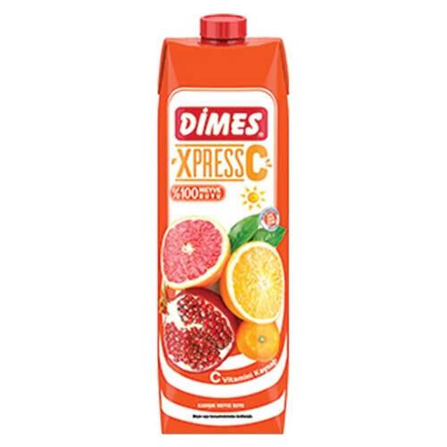 Dimes %100 Express C Meyve Suyu 1000 Ml.