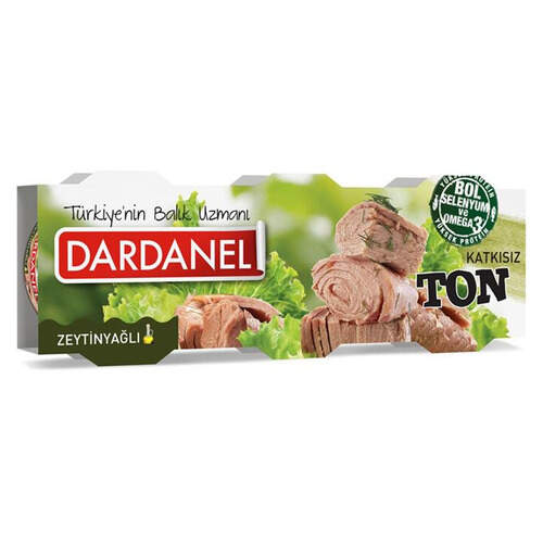 Dardanel Ton Zeytinyağlı 3'lü 80 Gr.