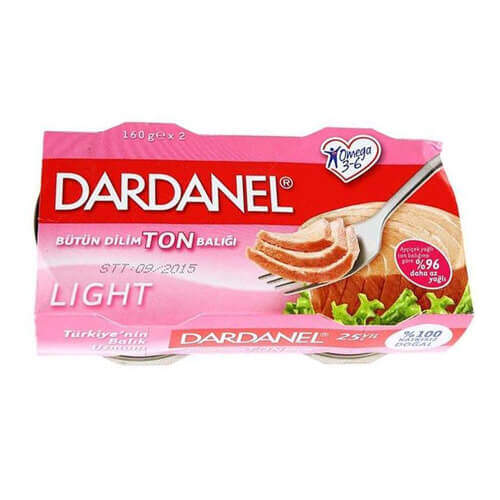 Dardanel Ton Light 2'li 160 Gr.